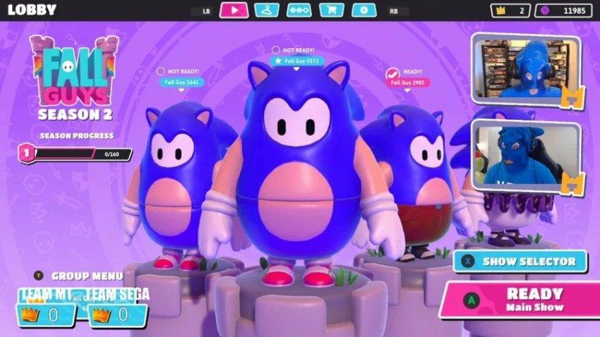 Fall Guys is getting a Sonic skin tomorrow